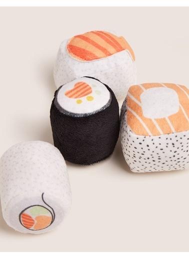 Marks & Spencer Sushi Baskılı Kedi Oyuncağı Renkli